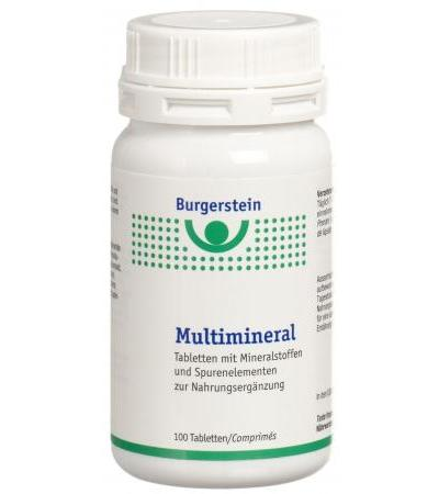 Burgerstein - Multimineral - 100 Tabl.