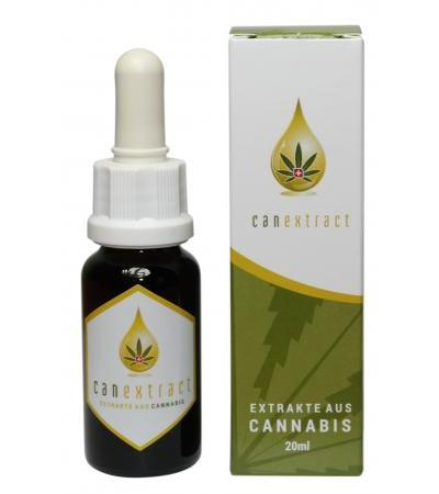 Canextract Cannabis forte CBD - Tropfen - 20ml