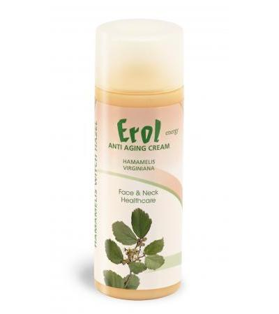 Erol energy - Anti Aging Cream Hamamelis - 200ml - mit gratis 30ml Antiseptic Handgel!