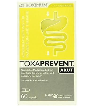 Froximun Toxaprevent Medi AKUT Colostrum - 60 Kaps.