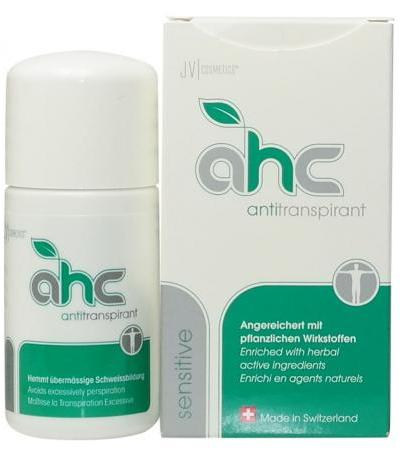 JV Cosmetics - AHC 20 Antiperspirant - sensitive - 50ml