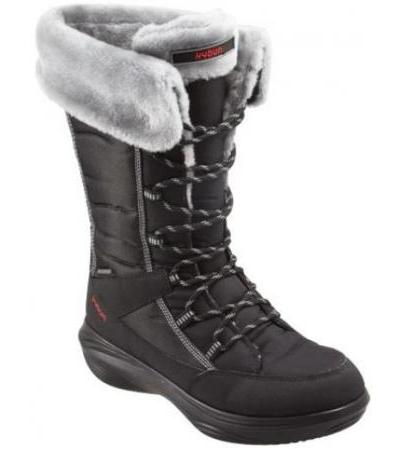 kyBoot - Damen - Halla Black 35 2/3 - Outlet 200.- Rabatt!