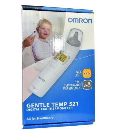 Omron Digital Ohr-Thermometer Gentle 521