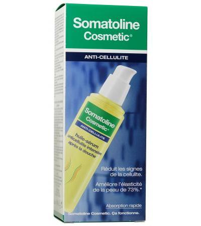 Somatoline Intensive Anti-Cellulite Oil-Serum nach den Duschen - 125ml