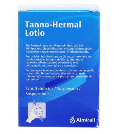 Tanno-Hermal Lotio bei Juckreiz - Windpocken - 100g
